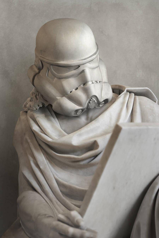 Star Wars Grecia Escultura Storm Tropper