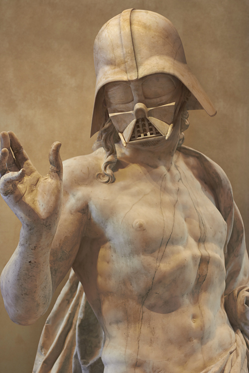 Star Wars Grecia Escultura Darth Vader